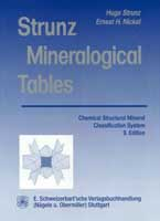 Strunz Mineralogical Tables